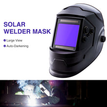 Load image into Gallery viewer, Welding Helmet True Color Auto-darkening Solar Powered Lithium Battery MIG TIG - Kaiezen