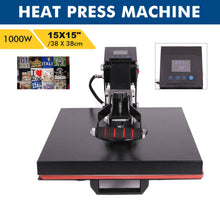 Load image into Gallery viewer, 15 x 15 Inch Heat Press Machine for Professional Commercial DIY - Kaiezen