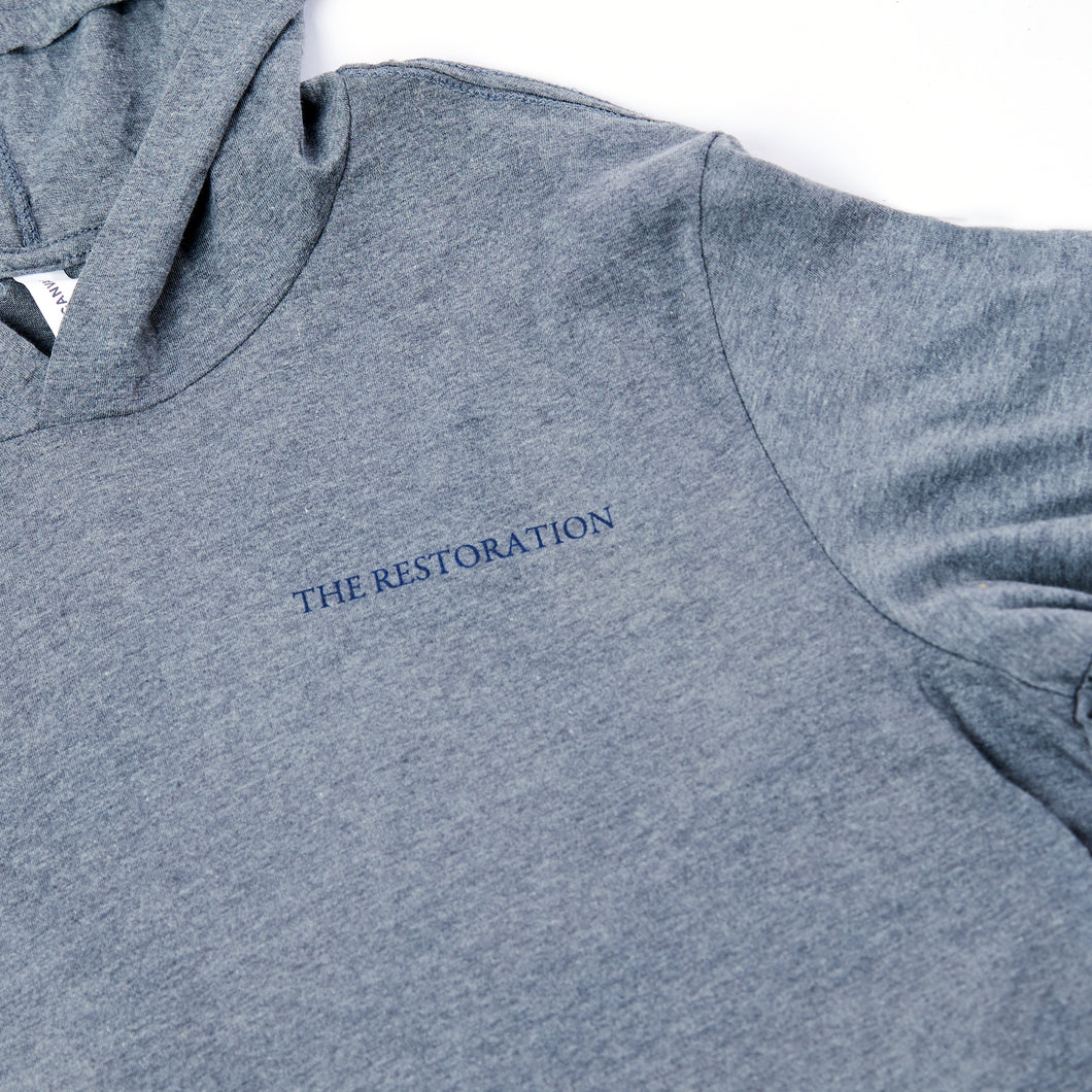 The Restoration Long Sleeve Hooded Shirt