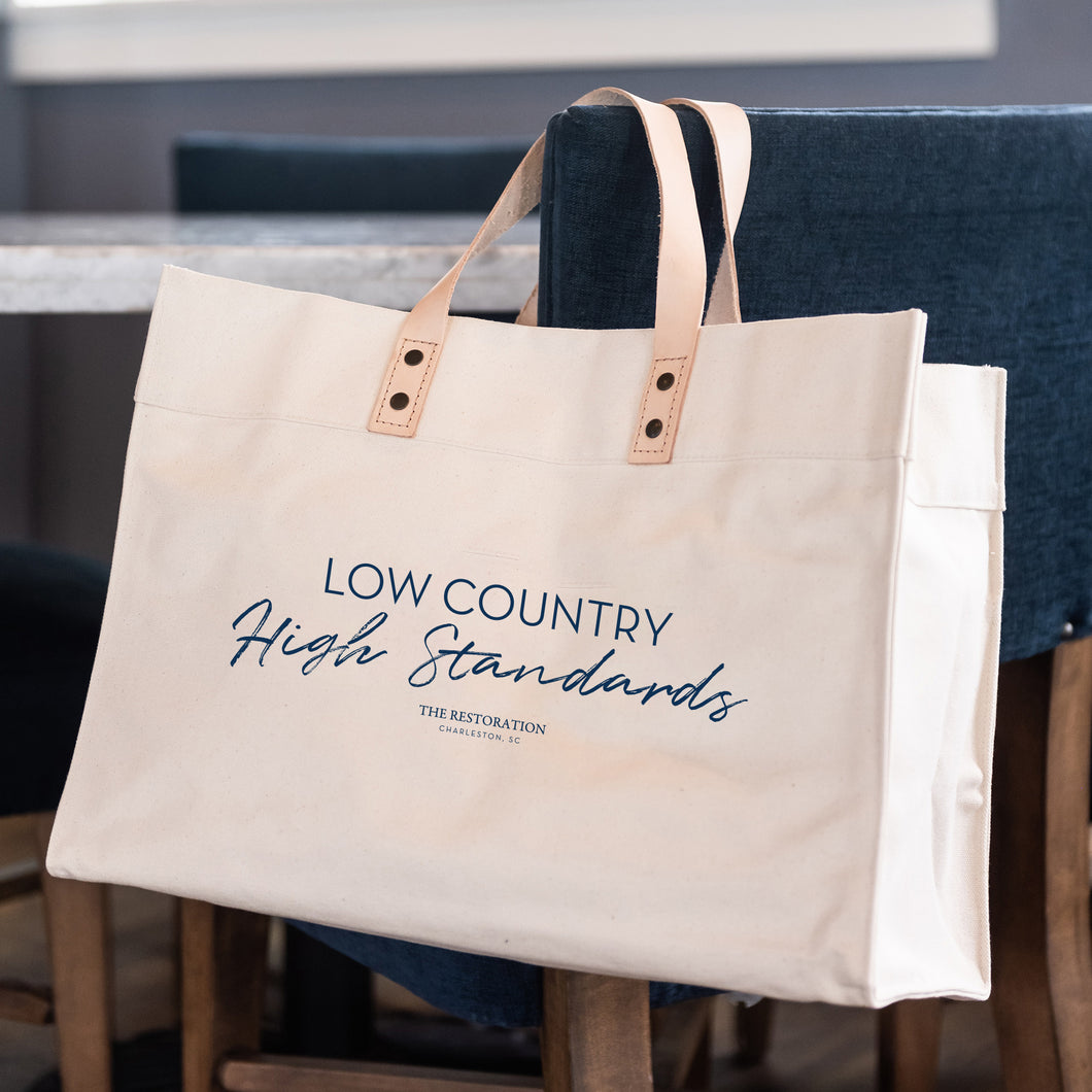 Low Country High Standards Signature Tote
