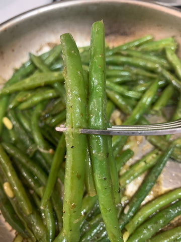 Green Beans with PanAfrica! Mother Seasoning