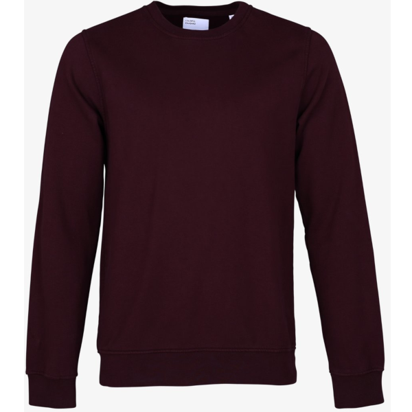 Colorful Standard Classic Organic Crewneck (oxblood red)