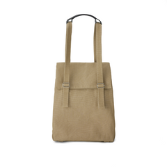 Qwstion Flap Tote Small (sand)
