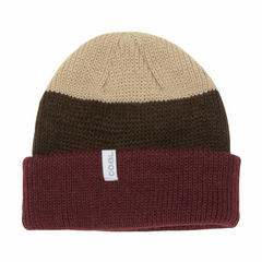 Coal Frena Beanie (brown stripe)