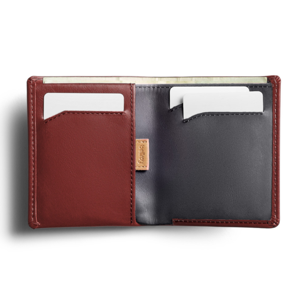 Bellroy Note Sleeve RFID (red earth)