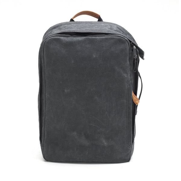 Qwstion Backpack (organic washed black)