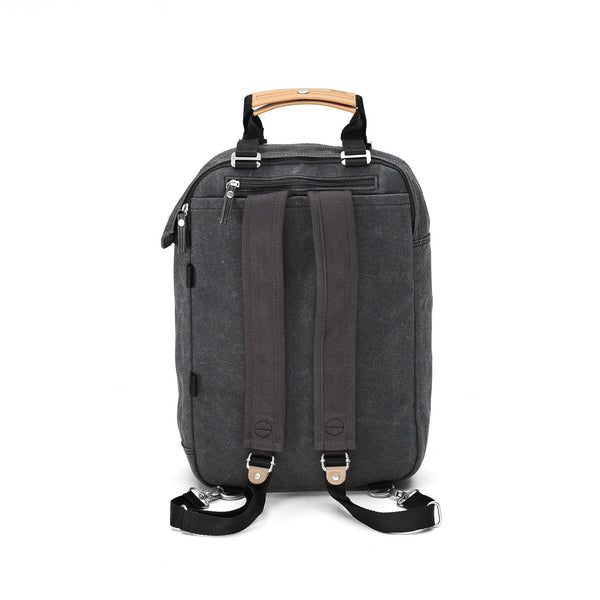 Qwstion Daypack (organic washed black)