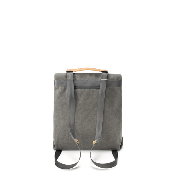 Qwstion Small Tote (organic washed grey)