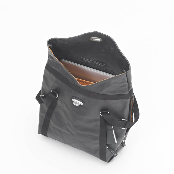 Qwstion Tote (organic jet black)