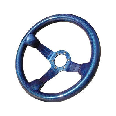 Shadow Blue Full Carbon Steering Wheel