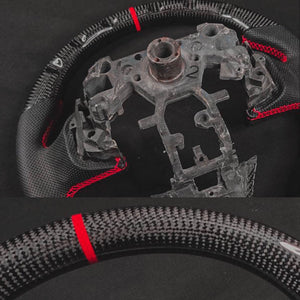 Q50 Carbon Leather Steering Wheel