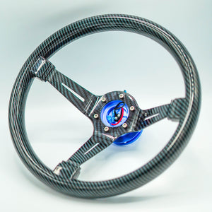 Hydro Carbon Steering Wheel