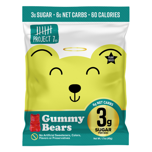 Low Sugar Gummy Bears