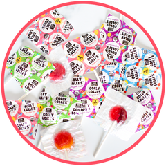Low Sugar Golly Lolli's - 16 Lolli Pops