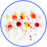 Low Sugar Golly Lolli's - 6 Pack
