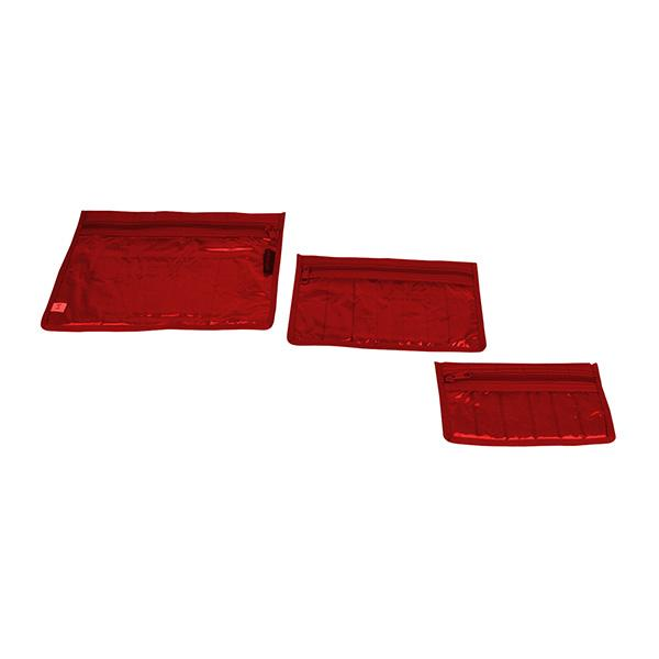 Craft Notions Pouch Set – Red