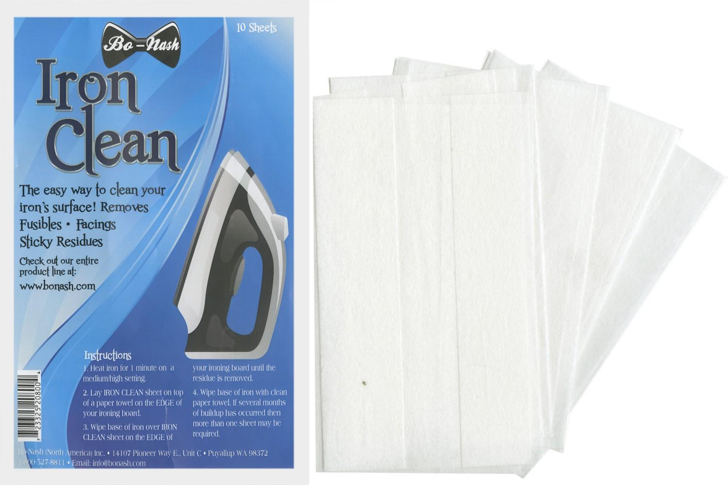 Bo-Nash Iron Clean Cloths
