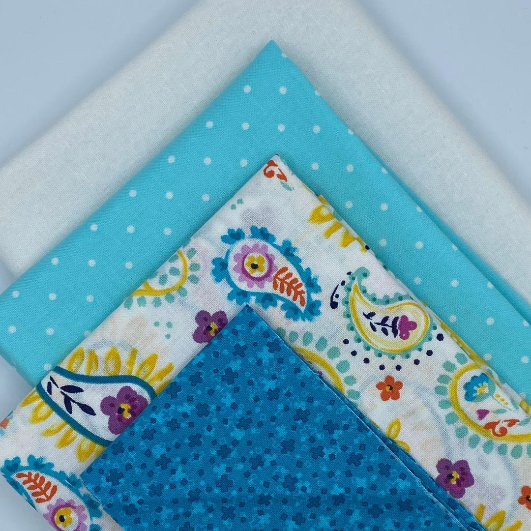 It's Summertime Wall Hanging Fabric Kit - Janine Babich Designs