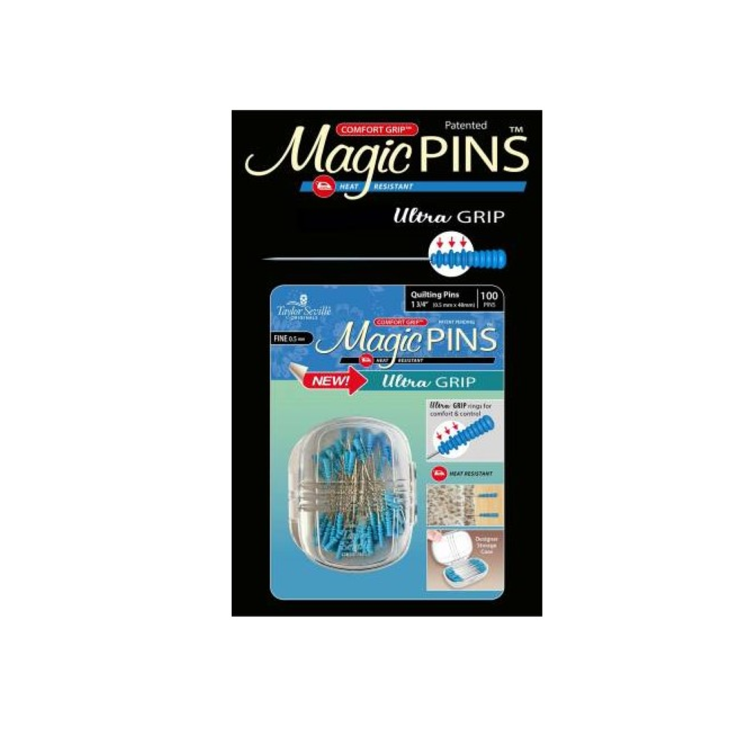 "Magic Pins Extra Fine 1""x3/4""- 100 Count"