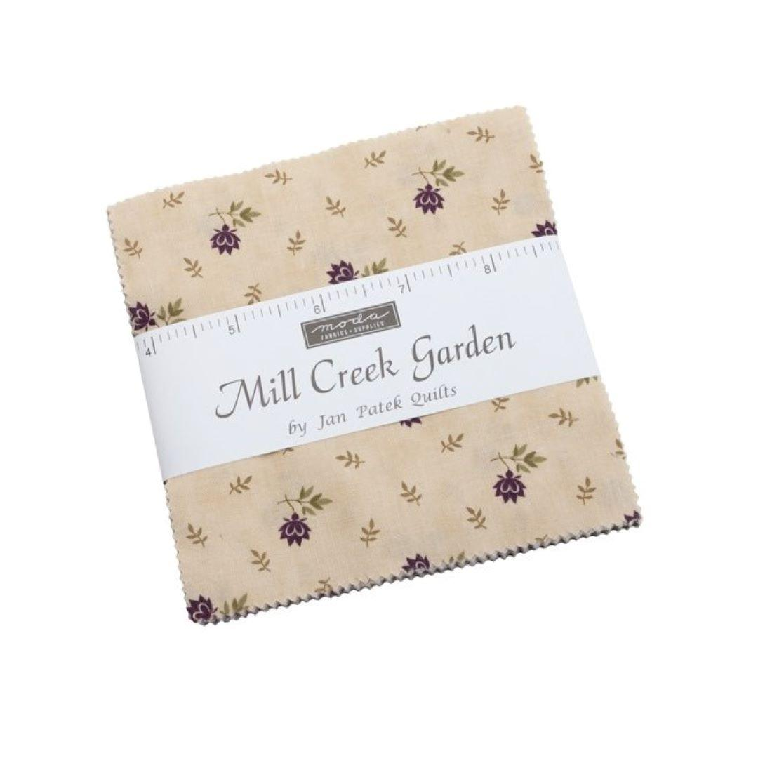 Mill Creek Garden Charm Pack