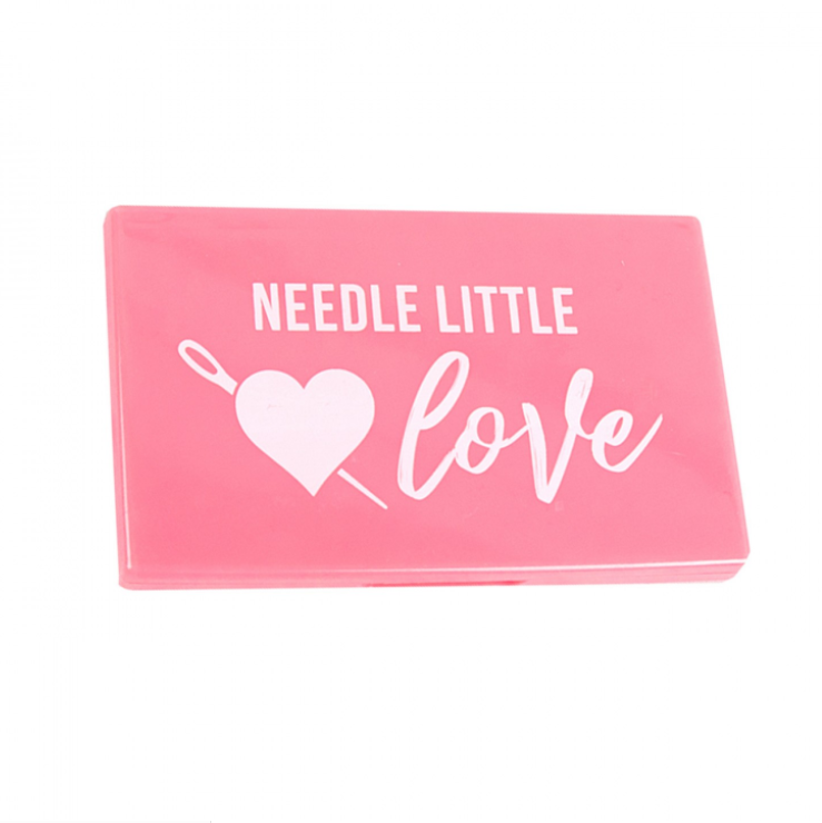 Needle Little Love Magnetic Needle Case Pink