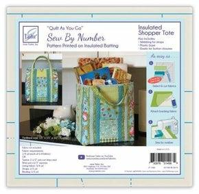 Quilt As You Go Insulated Tote (JT-1498)