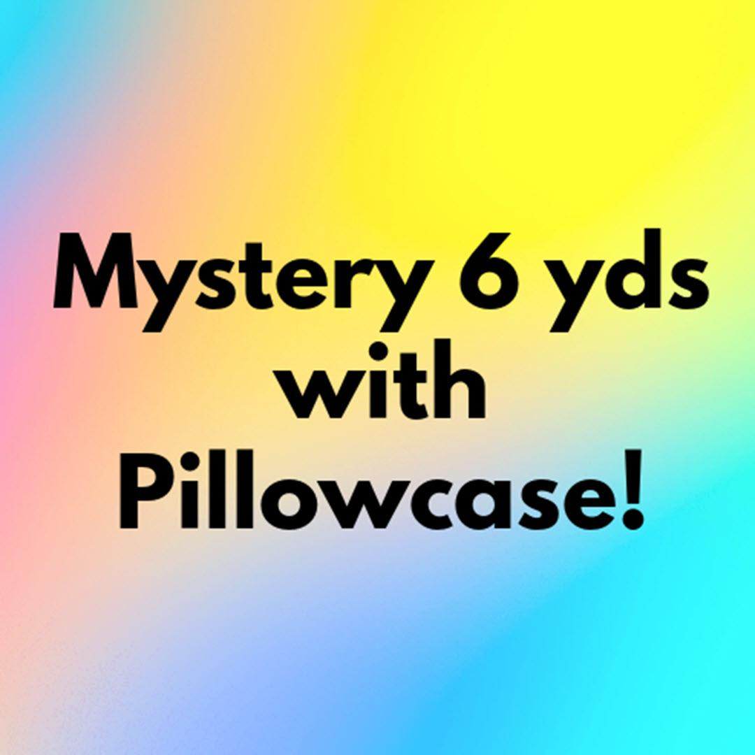Quilting Tia 6 Yard Bundle,  Mystery 6 yards and BONUS Pillowcase