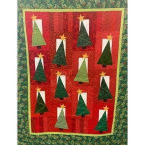 Tipsy Trees Quilt Kit