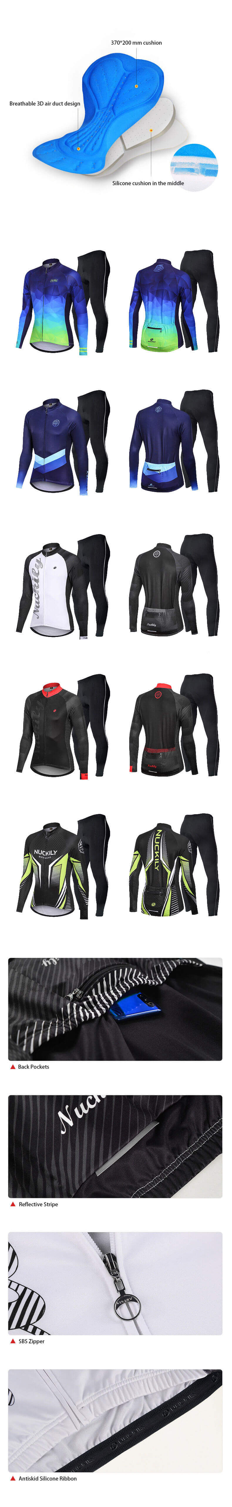 Men Winter Jersey with Tights