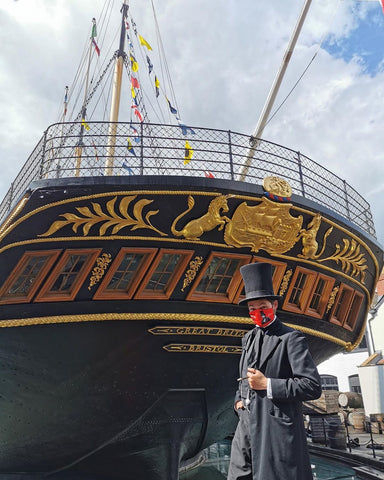 SS Great Britain Face Mask