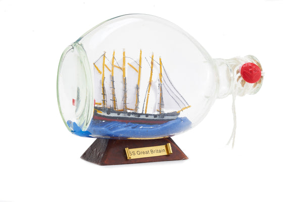 SS Great Britain in a Traditional Dimple Bottle