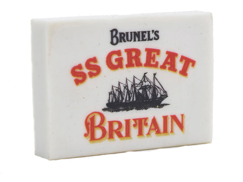 SS Great Britain Eraser
