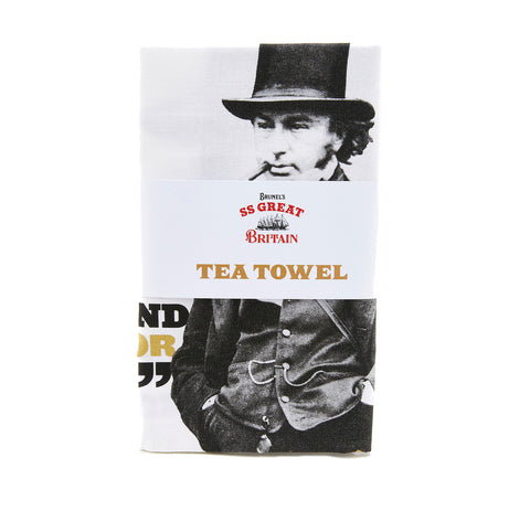 Brunel's Quotes Tea Towel
