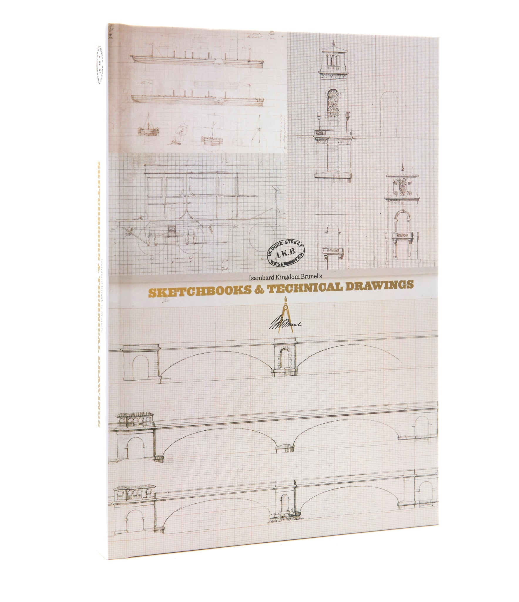 Technical Drawing A5 Notebook