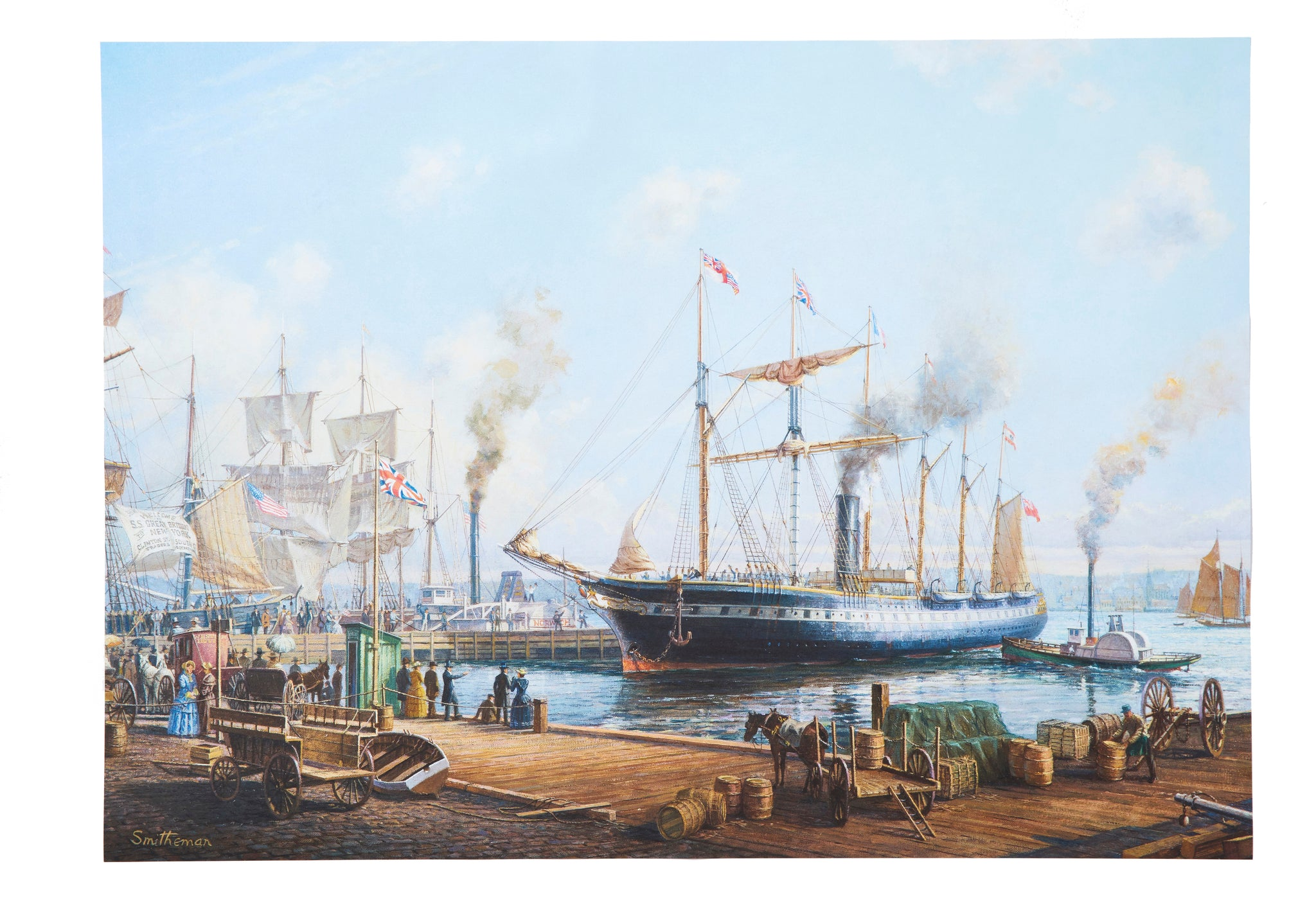SS Great Britain Liverpool Wrapping Paper