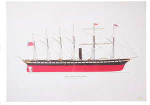 SS Great Britain Vintage Wrapping Paper