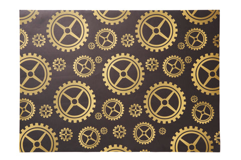 Cogs Design Wrapping Paper