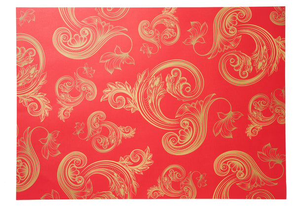 Flourishes Design Wrapping Paper