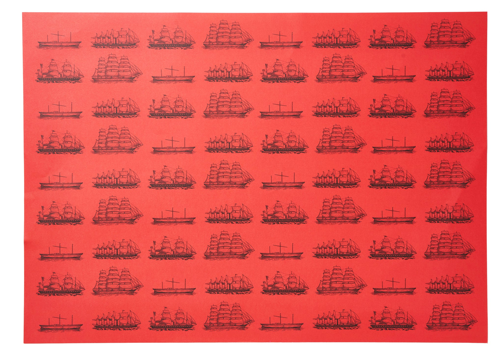 SS Great Britain Configuration Wrapping Paper