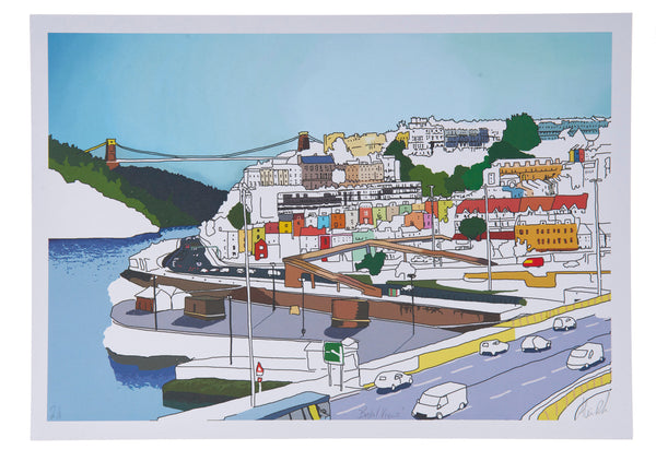 Alice Rolfe Print Bristol Views