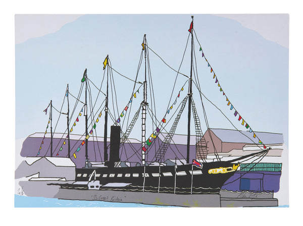 Alice Rolfe Print SS Great Britain