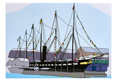 Alice Rolfe Card SS Great Britain
