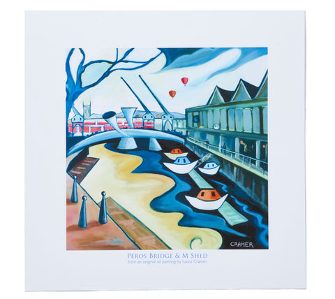 Laura Cramer Print Peros Bridge