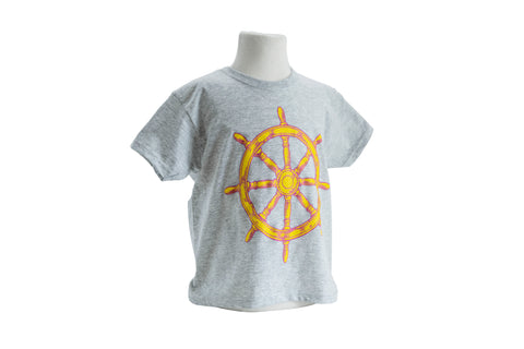 Ships Wheel Kids T-Shirt
