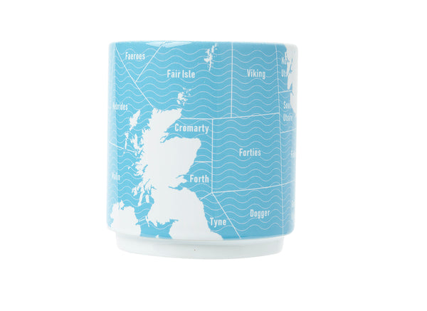 Shipping Forecast Stacking Mug