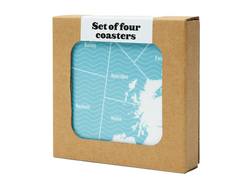 Shipping Forecast Coaster Set
