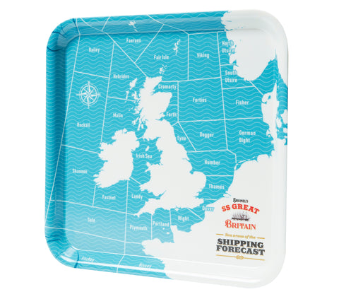 Shipping Forecast Snack Tray