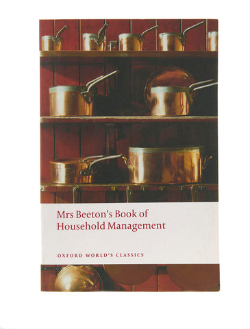 Mrs Beeton's Book of Household Managment
