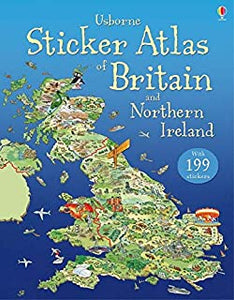 Sticker Atlas of Britain and Nothern Ireland