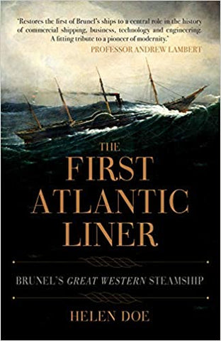 The First Atlantic Liner